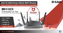 Svimlende hurtigt og sikkert Wi-Fi