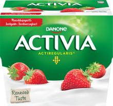 Återkallelse av Activia Jordgubb (4x125g pack) med Bäst Före Datum 16082018
