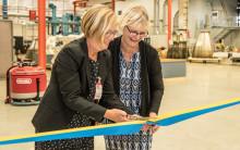 Ny rymdverkstad invigd på GKN i Trollhättan