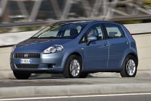 Fiat Grande Punto Natural Power ny biogasbil
