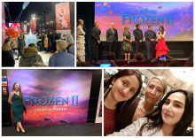 ellenor get the red-carpet treatment at Disney's Frozen 2 premiere