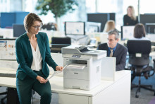 Brother vil erobre mellemstore kunder med ny serie af sort/hvid laserprintere