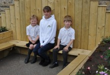 School bench unveiled in memory of accident victim Kieran