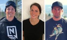 Tre unga ledare på snö belönas med stipendium på 30 000 kronor vardera