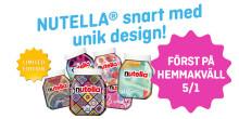 Hemmakväll först ut med NUTELLA® i unika designs!