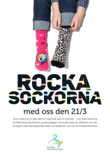 Rocka sockorna affisch 1