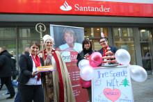 """Tag des Ehrenamtes: Santander Mitarbeiter unterstützen """"brotZeit e.V."""""""