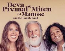 Konsert 4 oktober! Välkommen till en magisk kväll med sång och gemenskap när tusentals möter Deva Premal & Miten med Manose på Waterfront