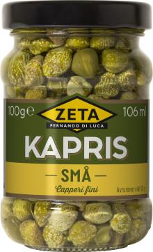 Återkallelse av Zeta Kapris Små,100 g, med bäst-före-datum 2023–01-31