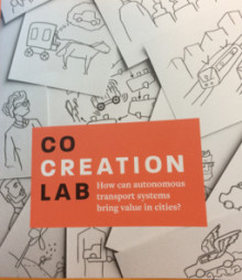 Co-creation lab - Hur kan ett autonomt transportsystem öka samhällsnyttan i städerna?