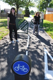 Upgrade completed on New Elgin shared use path
