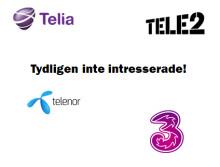 De stora teleoperatörerna lyder Apple - missar nya kunder!