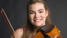 Underbarnet Ellinor D'Melon åter till Gävle Symfoniorkester