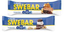Nu lanseras Swebar Low Sugar i smakerna Rocky Road och Chocolate Peanut Butter