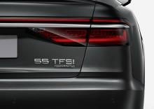 Två siffror som signalerar framtid. Audi inför nya beteckningarna för effekt.