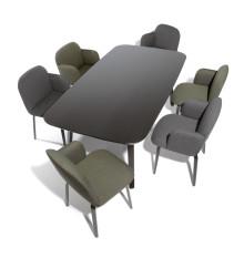 Design star Thomas Feichtner creates new dining furniture concept for Rosenthal Interieur