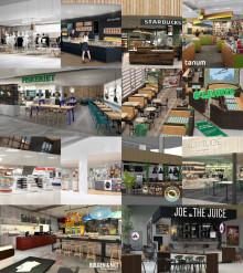 Slik blir butikk- og serveringstilbudet på Bergen lufthavn, Flesland