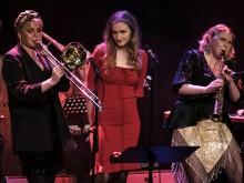 Säsongsavslutning med Nanna Carling Swing band 6 maj på Mejeriet i Lund