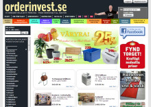 Orderinvest tar affären online med Litium