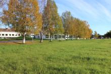 Inbjudan till media: onsdag 18/5 kl 10 tar vi första spadtaget för Myrvikens nya förskola samt har informationsträff