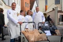 Pågen bakar och bjuder på Mångfaldsmackor i Almedalen