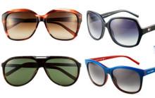 Vårens solglasögon från Karl Lagerfeld och Tommy Hilfiger finns på Specsavers