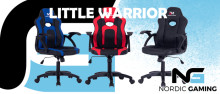 Nordic Gaming Little Warrior: En gamer stol til de mindste gamere