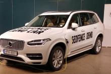Volvo visar senaste tekniken inom Geofencing på Advanced Engineering