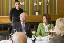 Talare vid Kungaparets besök i Sölvesborg