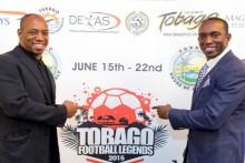 Dwight Yorke sætter ord på Tobago Football Legends Challenge i juni