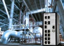 Industriell switch med enklare installation