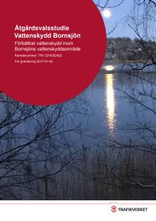 Åtgärdsvalsstudie Vattenskydd Bornsjön från Trafikverket