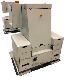 Premiär för unikt AGV-system som laddar under gång