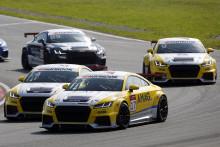 Danske Nicolaj Møller Madsen mistede førstepladsen i Audi Sport TT Cup