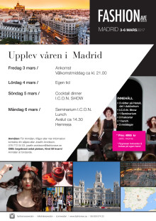 WEEKEND Madrid 3-6 mars 2017