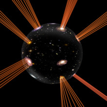 Our Universe: An expanding bubble in an extra dimension