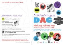 Folkbildningens dag 4 oktober -09