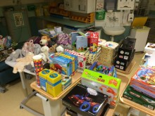 The children's presents have arrived at NUH......
