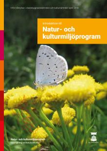Introduktion natur- och kulturmiljöprogrammet