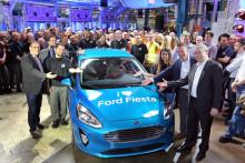 Végre megérkezett! Legördült a gyártósorról Európa legkelendőbb autója, a vadonatúj Fiesta első példánya
