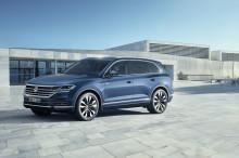 Säljstart för helt nya Volkswagen Touareg