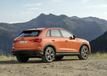 5 stjerner til Audi Q3 i Euro NCAP