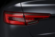 Nya Audi A4 med belysningslösningar från Hella