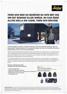 Snickers Workwear 1178 Vattentät Vinterjacka