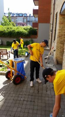 109 arbetar extra hos MKB Fastighets AB i sommar