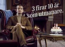 Mobiloperatören 3 firar tio år i Sverige