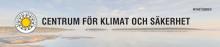 Nyhetsbrev, december 2017, från Centrum för klimat och säkerhet