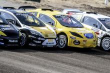 Santosh Berggren missade Arvikas Rallyx Nordic-final men tog ändå sköna poäng.