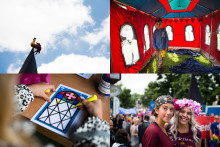 Svenska kyrkan sprider kärlek på Västerås Cityfestival