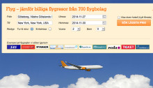 Boka flygresan direkt på Reseguiden.se